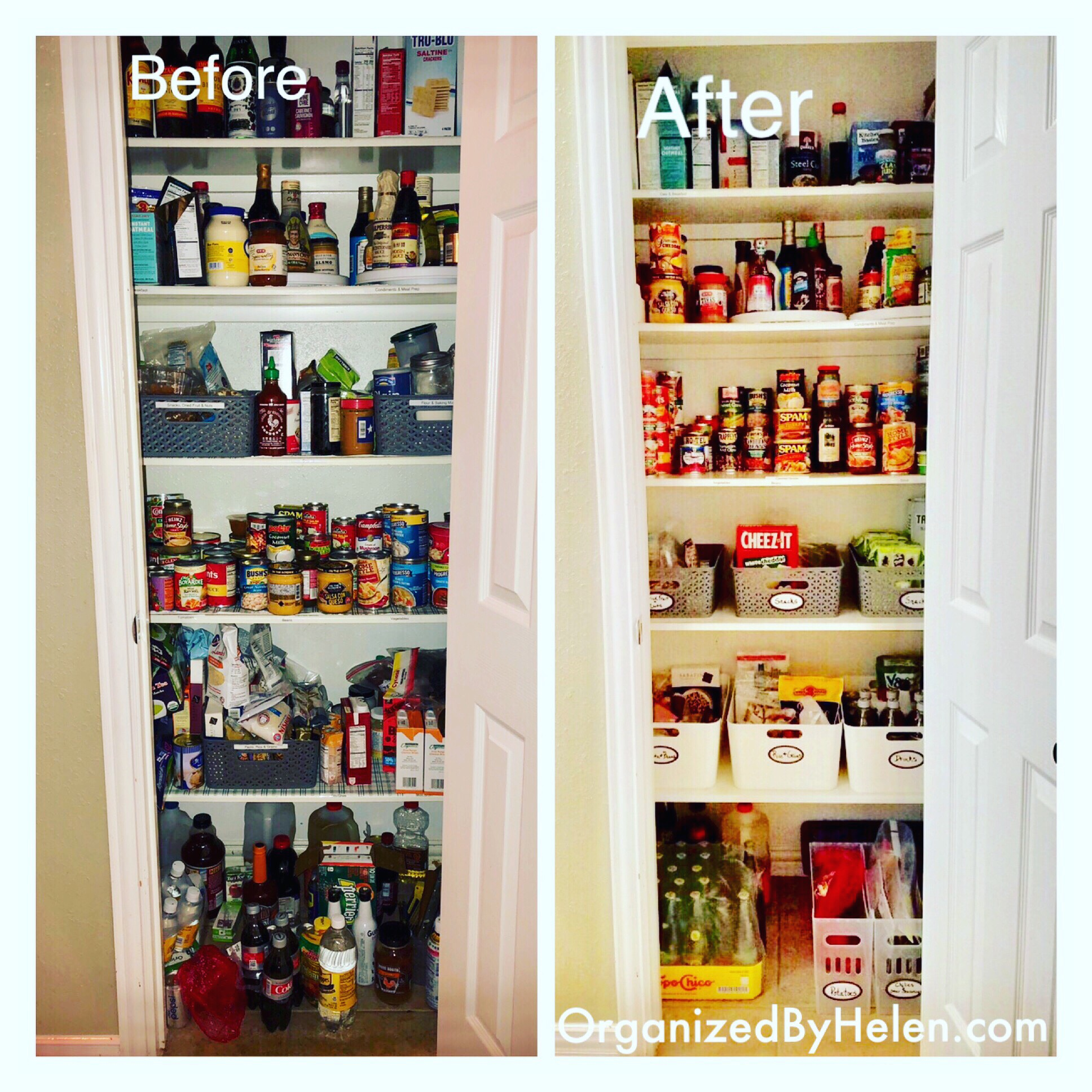 Pantry Before & After